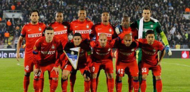 Partizan-Inter foto squadra