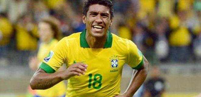 Paulinho Brasile-Uruguay Confederations Cup 2013