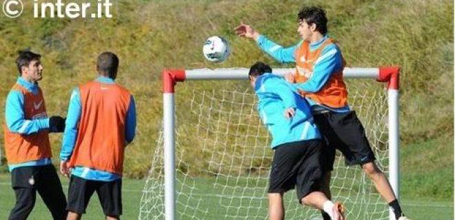 Penultimo allenamento Inter-Chievo