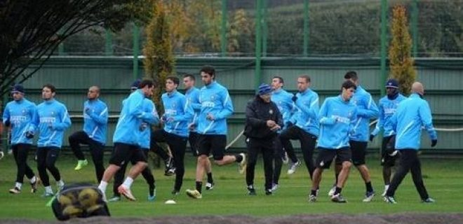 Penultimo allenamento pre Genoa-Inter