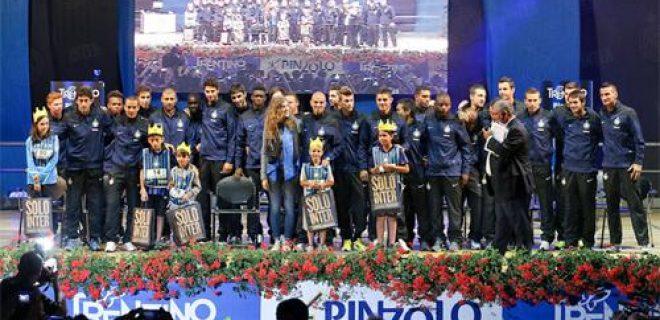 Presentazione Inter rosa nerazzurra 2013-14