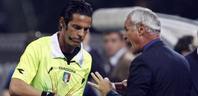 Ranieri Inter-Napoli quarto uomo
