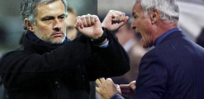 Ranieri-Mourinho contro arbitri