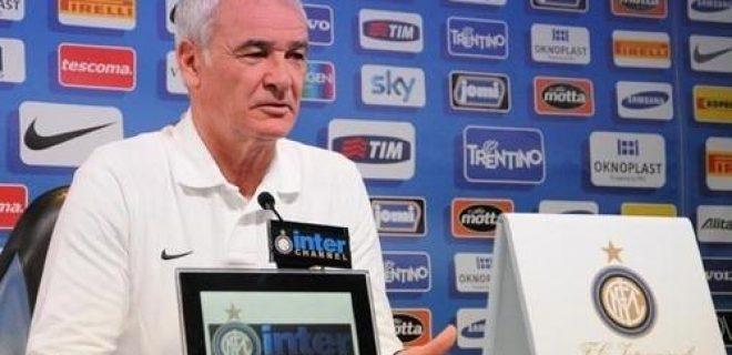 Ranieri conferenza pre Inter-Atalanta