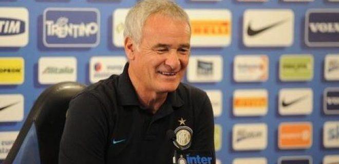 Ranieri conferenza pre Inter-Chievo