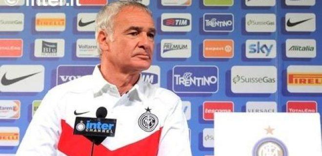 Ranieri conferenza pre Inter-Fiorentina