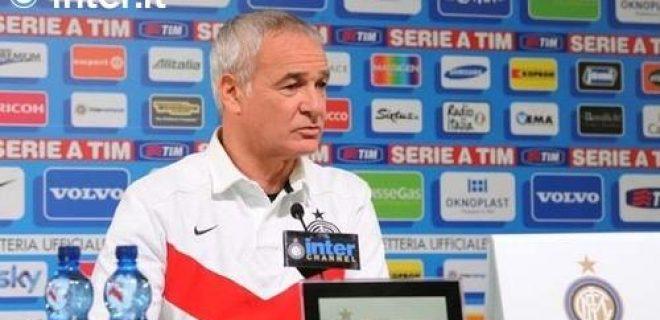 Ranieri conferenza pre Inter-Parma