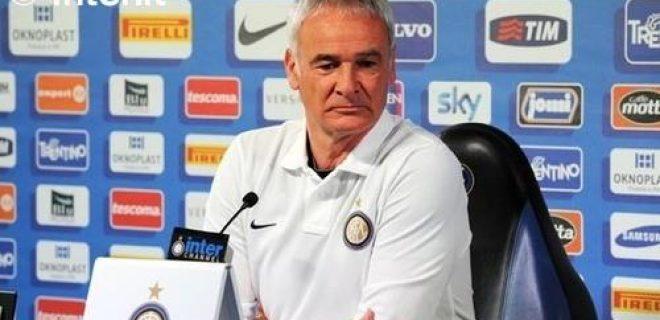 Ranieri conferenza pre Juve-Inter