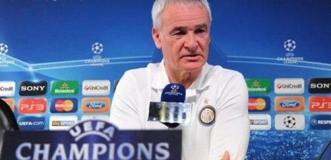 Ranieri conferenza pre Olympique Marsiglia