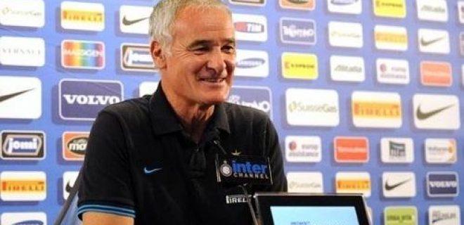 Ranieri conferenza stampa Inter-Napoli bis