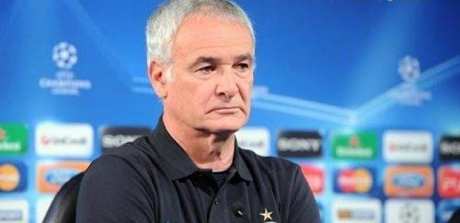 Ranieri conferenza stampa pre Inter-Cska