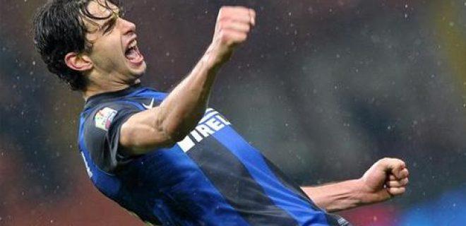 Ranocchia esultanza Inter-Bologna Tim Cup