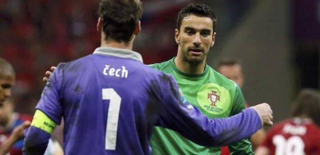 Rep.Ceca - Portogallo Cech Rui Patricio