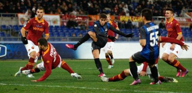 Ricky Alvarez Roma-Inter Coppa Italia