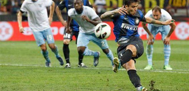 Ricky Alvarez rigore Inter-Lazio