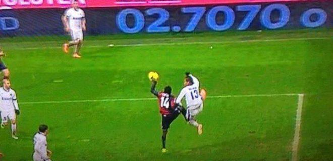 Rigore Genoa-Inter