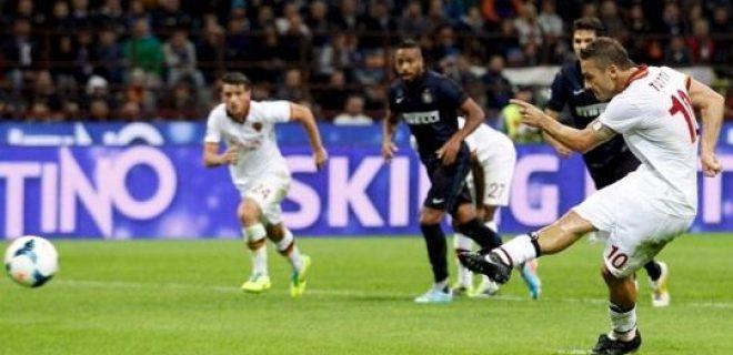 Rigore Totti Inter-Roma