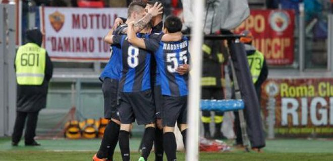 Roma-Inter 1-1 esultanza gol