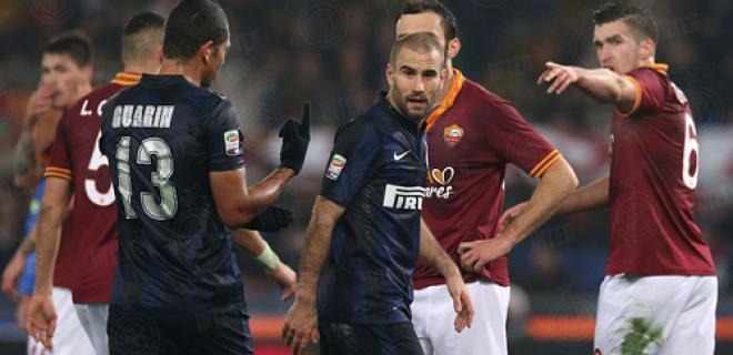 Roma-Inter Trenza Guaro