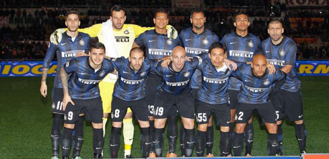 Roma-Inter foto squadra