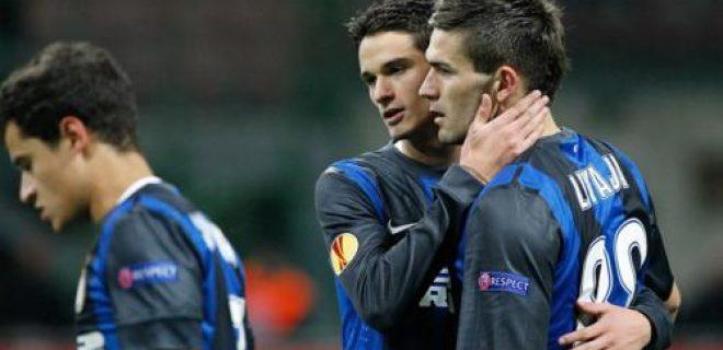 Romanò Livaja Inter-Neftçi Europa League