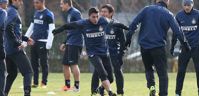 Ruben Botta rifinitura pre Udinese-Inter