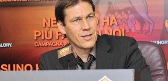 Rudi Garcia conferenza Roma