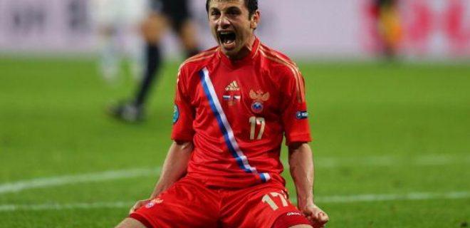 Russia Repubblica Ceca Euro 2012 Dzagoev