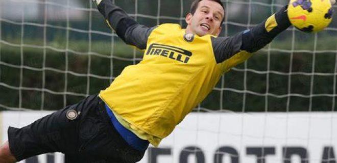 Samir Handanovic Inter allenamento
