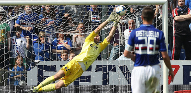 Samir Handanovic Sampdoria-Inter