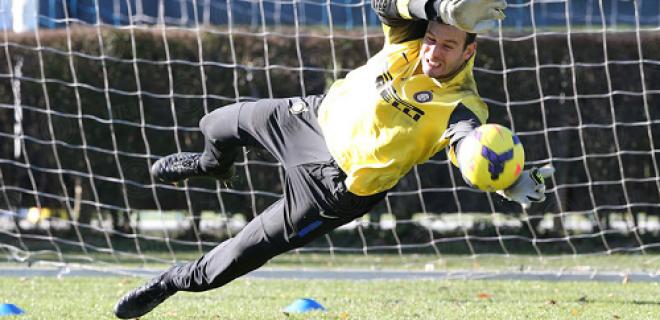 Samir Handanovic allenamento Inter