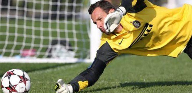 Samir Handanovic allenamento