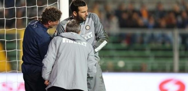 Samir Handanovic infortunio Atalanta-Inter