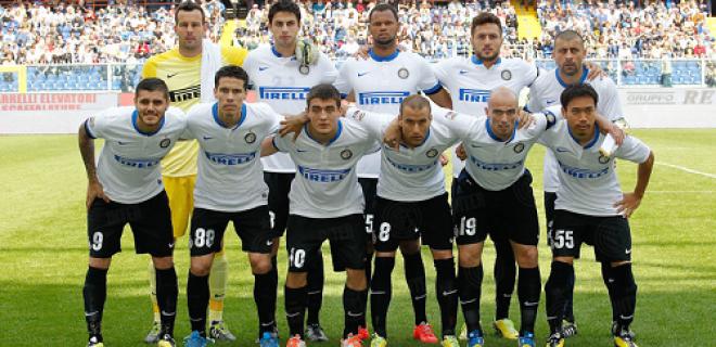 Sampdoria-Inter foto squadra