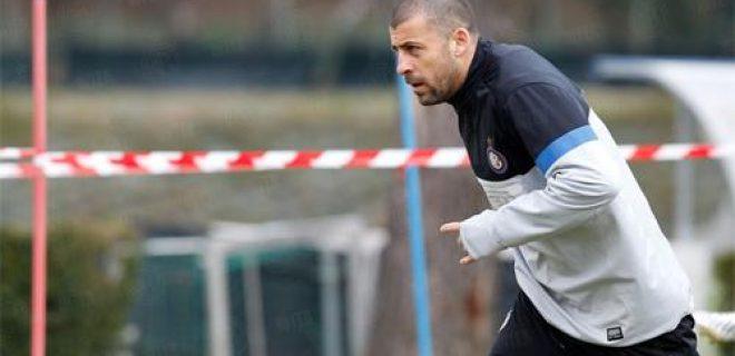 Samuel allenamento Inter