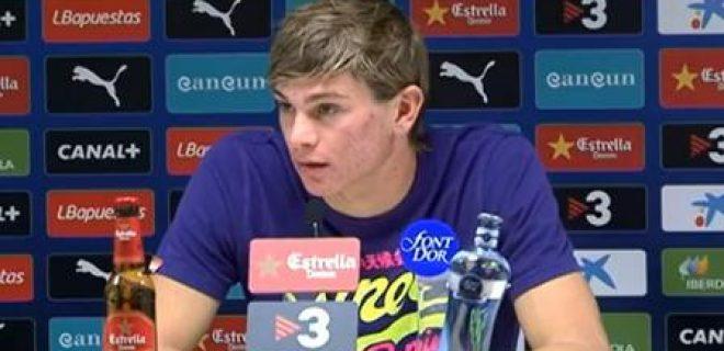 Samuele Longo conferenza Espanyol