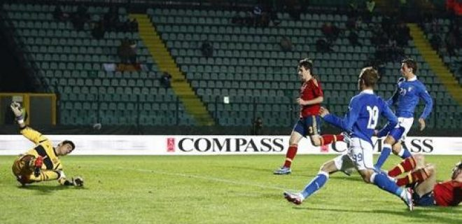 Samuele Longo gol Italia-Spagna Under 21