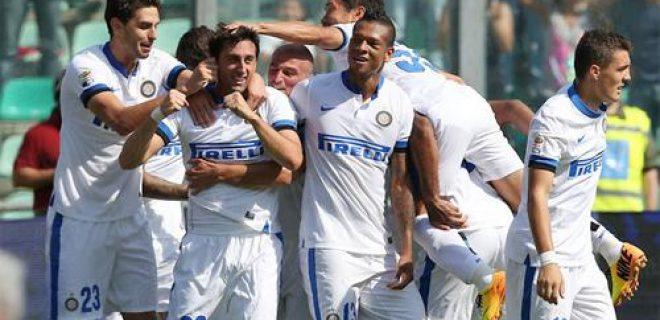 Sassuolo-Inter esultanza