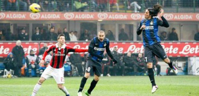 Schelotto gol derby Inter-Milan