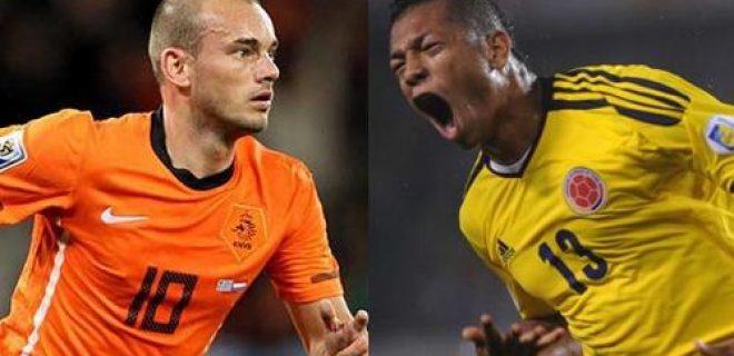 Sneijder Guarin nazionali