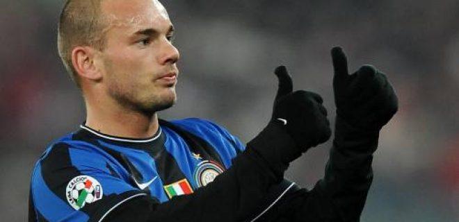 Sneijder Inter Ok
