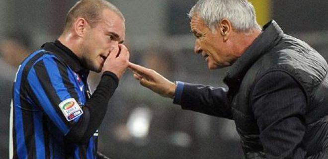 Sneijder e Ranieri