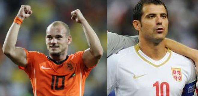 Sneijder-Stankovic nazionale