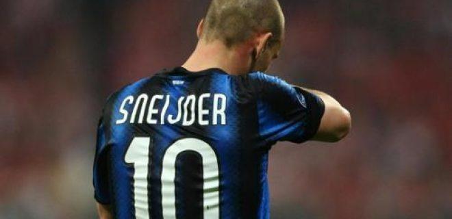 Sneijder deluso
