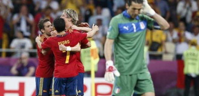 Spagna vs Italia 4-0