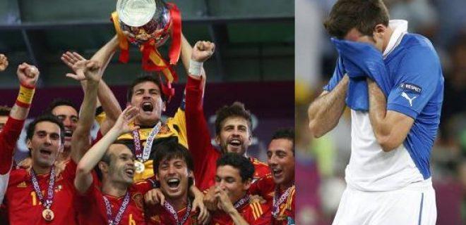 Spagna vs Italia finale Euro 2012