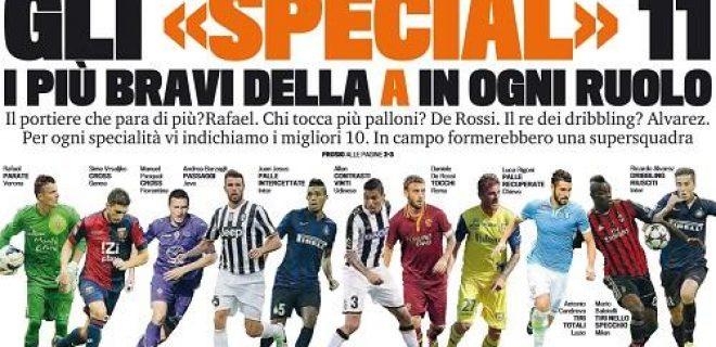 Special 11 Gazzetta