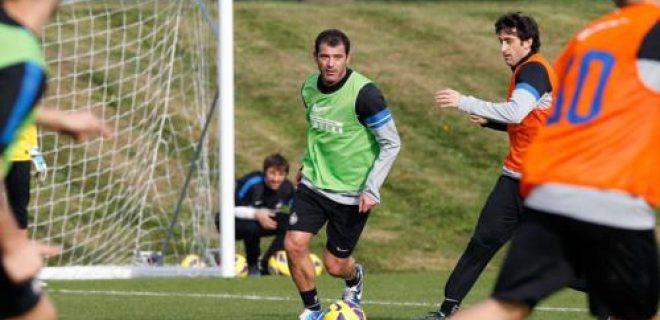 Stankovic allenamento Inter