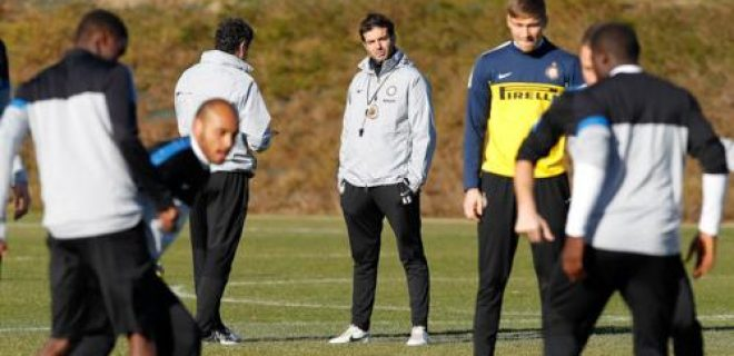 Stramaccioni rifinitura pre Udinese-Inter