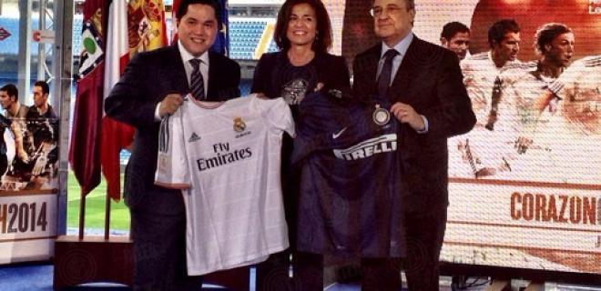 Thohir Perez Madrid Bernabeu